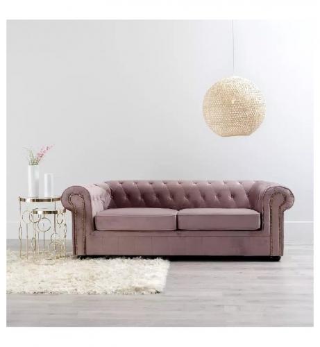sofa-romeo-chester-3-plazas-terciopelo-rosa-eucalipto-romantico
